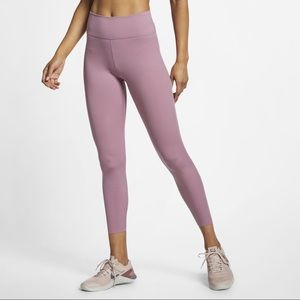 NIKE // One Luxe Women's 7/8 Tights In Plum Dust